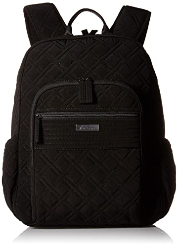 d66d7d2833 Amazon.com  Vera Bradley Campus Tech Backpack (Classic Black)  Shoes