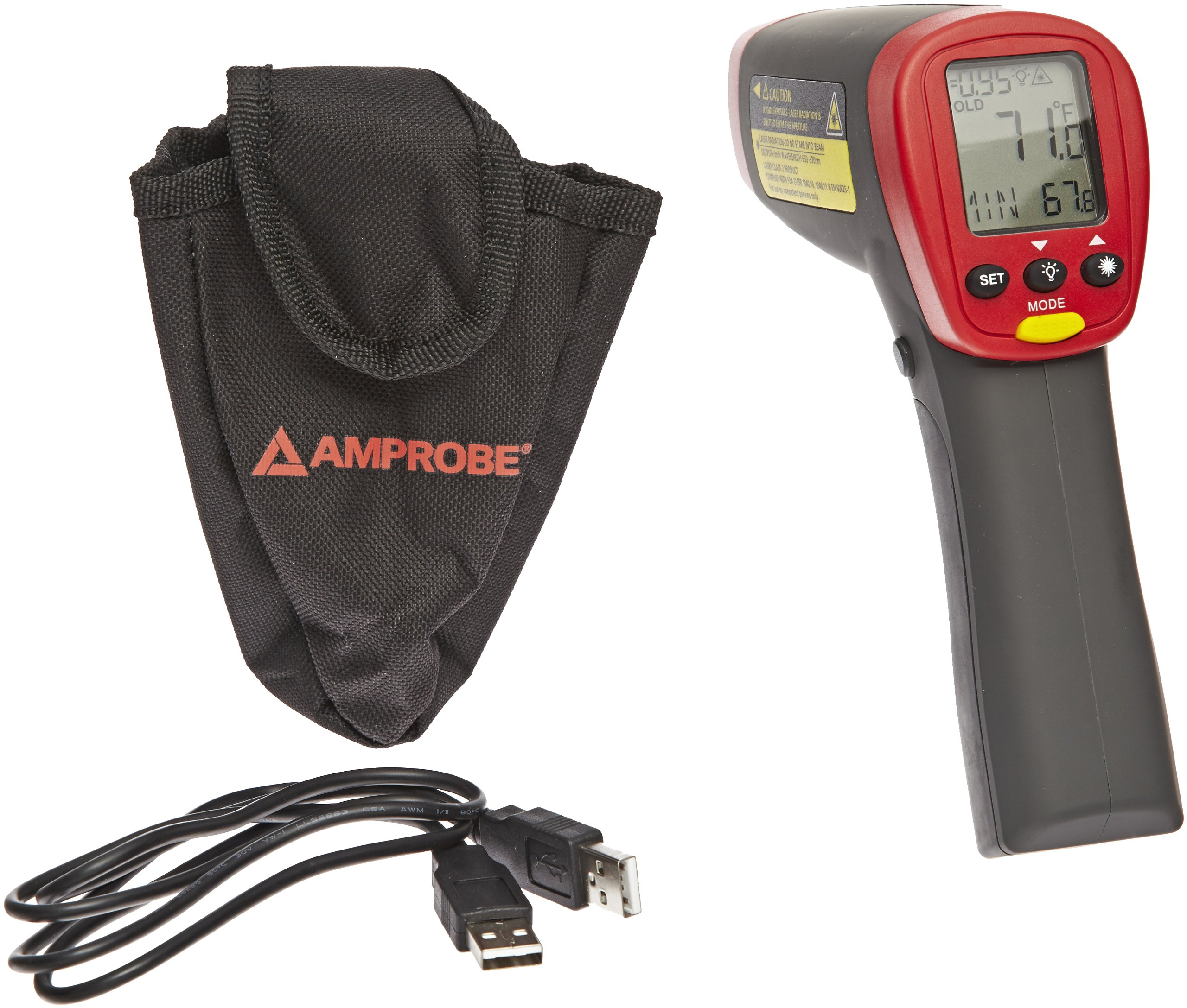 Amprobe IR-712 Infrared Thermometer - 0F to 1022F, 12:1 by Amprobe (Image #2)