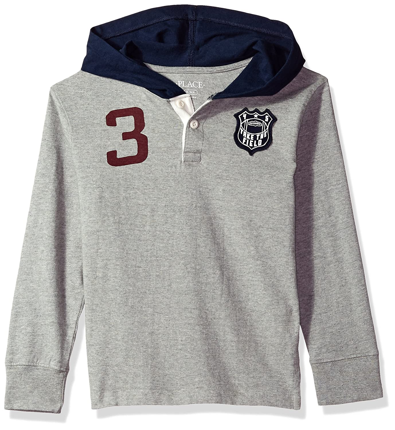 The Children's Place Boys' Long Sleeve Knit Hoodie 2087416012