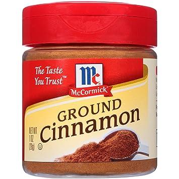 amazon com mccormick ground cinnamon 1 oz cinnamon spices and