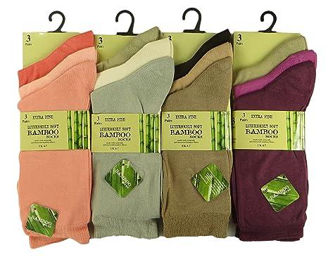 960069ab11ad9 6 Pairs Of Women s Bamboo Socks