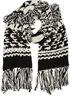 Womens Francisca Scarf, Black, One Size (Manufacturer Size: 000) Pepe Jeans London