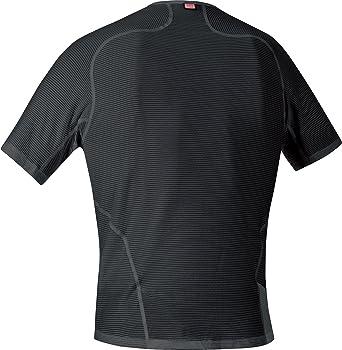 GORE RUNNING WEAR Herren Kurzarm-Unterzieh-Shirt GORE Selected Fabrics UESSEN ESSENTIAL Shirt Stretch