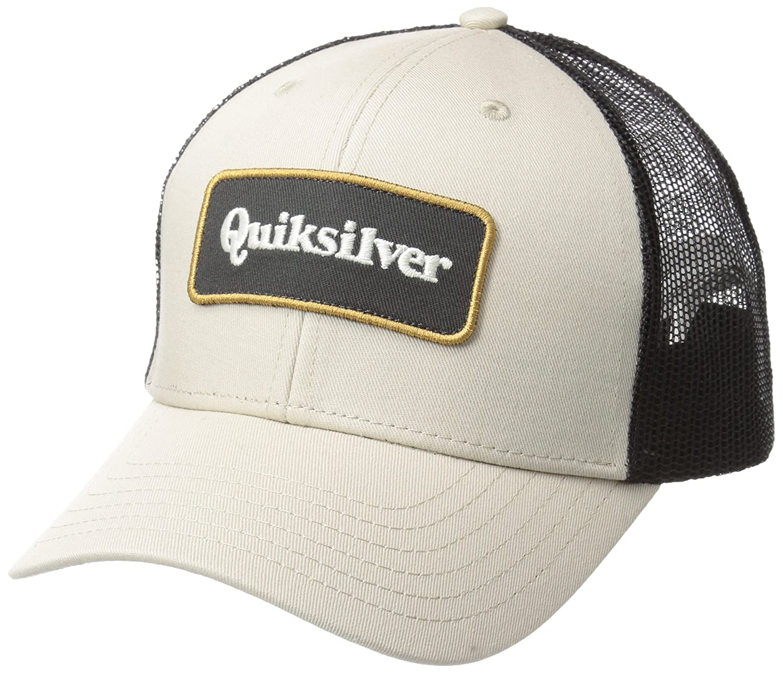 Quiksilver Mens Standard Totally Socked Trucker Hat Birch 1SZ AQYHA04132