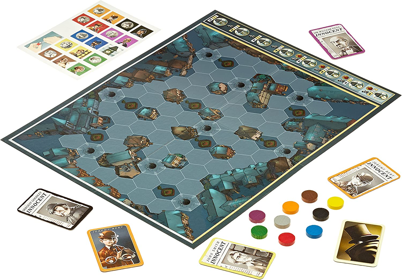 Asmodée - Mr. Jack: Cathala, Bruno, Maublanc, Ludovic: Amazon.es: Juguetes y juegos