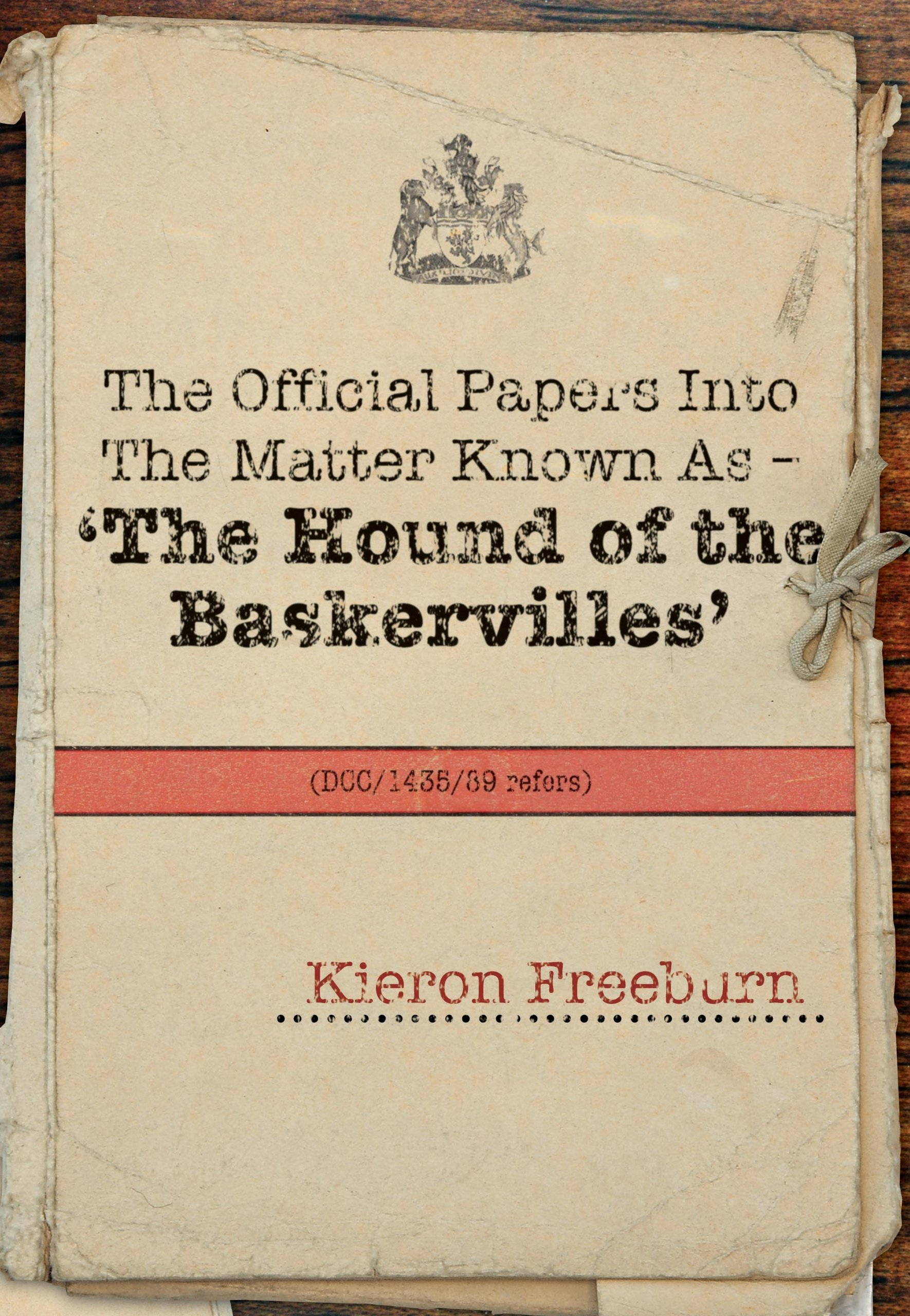 Download The Official Papers Into the Matter Known as -The Hound of the Baskervilles Dci1435-89 Refers ebook