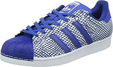 adidas superstar hommes bleu