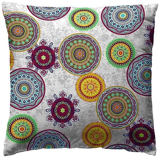 Martina Home - Funda de cojin MIKONOS, color VERDE, medida 45 x 45 cm.