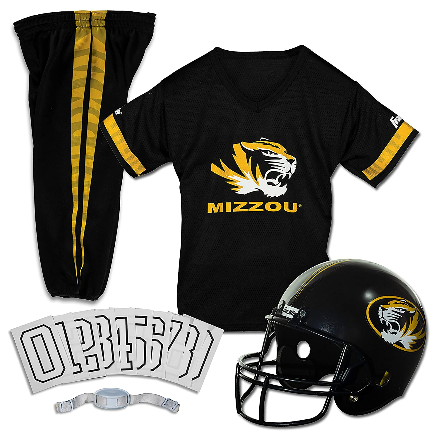 Franklin Sports NCAAデラックスYouth Team Uniform Set B003XQPAHG  Medium Medium|Missouri Tigers