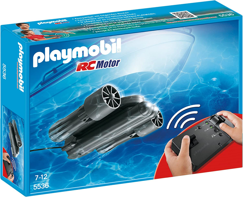 Playmobil Accesorios Rc Motor Submarino Vehículos De Juguete Color Negro Playmobil 5536 Amazon Es Juguetes Y Juegos