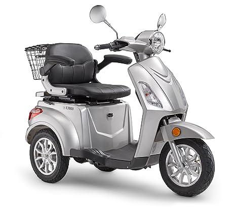 Eléctrico Roller luxxon E3800 – Eléctrico Triciclo para personas mayores con 800 W, Max.
