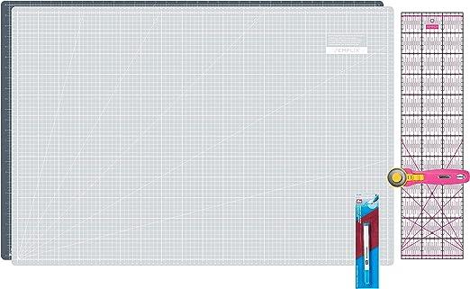 Patchwork Quilt-Unterlage 90 x 60 cm Rollschneider