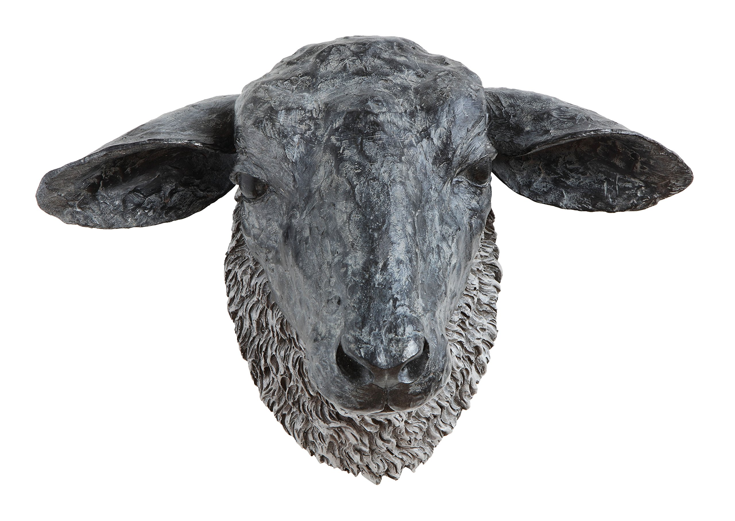 Creative Co-Op Sheep Head Wall Décor by Creative Co-op