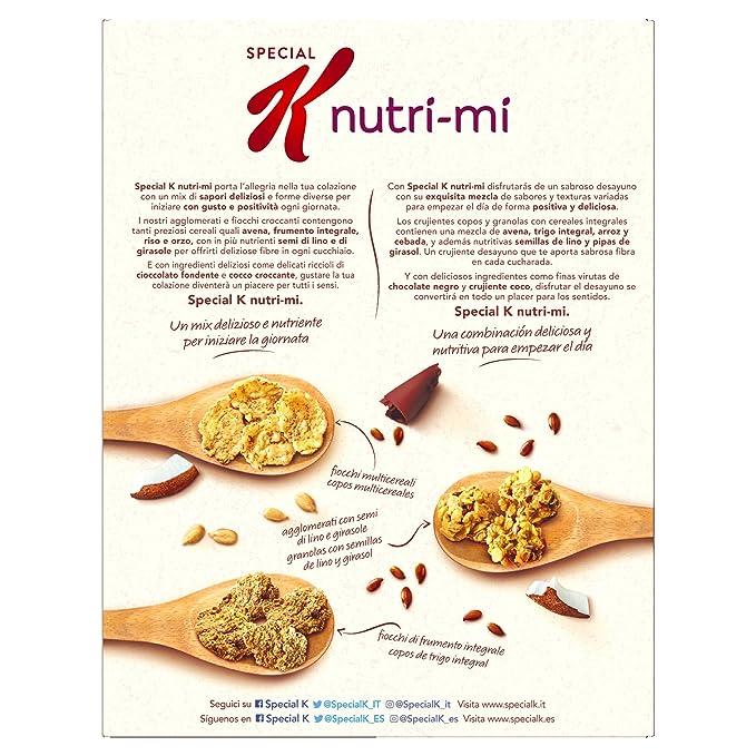 Kelloggs Cereales Special K Nutri-Mi Chocolate Negro y Coco - 2 ...