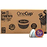 San Francisco Bay OneCup, Hazelnut Crème, 120 Count- Single Serve Coffee, Compatible with Keurig K-cup Brewers, Flavored