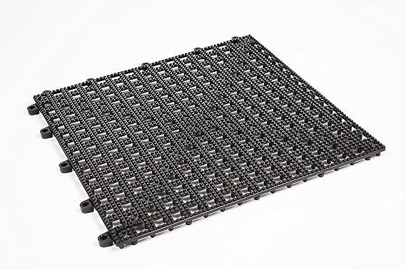 Dri-Dek Marine Surface - 1'x1' Interlocking Tiles - Boat Storage Compartment