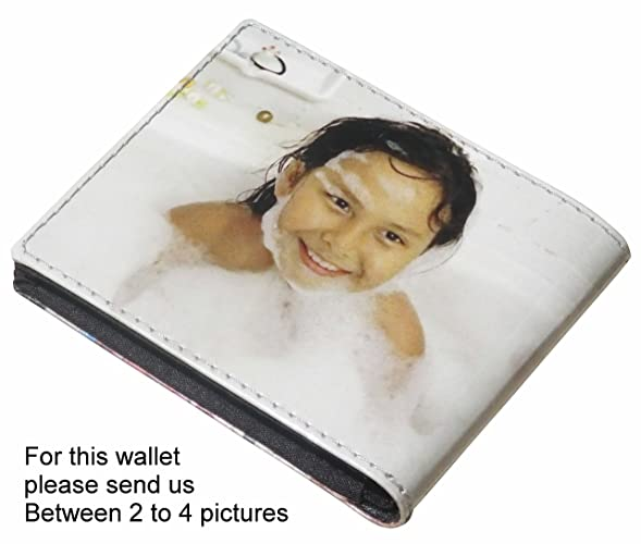 Amazon personalized small wallet for men with your own choice personalized small wallet for men with your own choice of pictures or anything else solutioingenieria Images