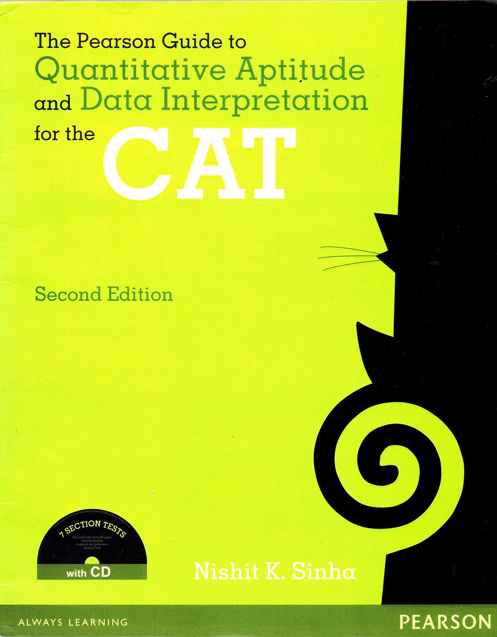 Buy the pearson guide to quantitative aptitude and data buy the pearson guide to quantitative aptitude and data interpretation for the cat with cd old edition book online at low prices in india the pearson fandeluxe Images