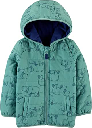 Simple Joys by Carter's Puffer Jacket outerwear-jackets Niños