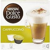 Nescafé Dolce Gusto - Cappuccino - 3 Paquetes de 16 Cápsulas - Total: 48 Cápsulas