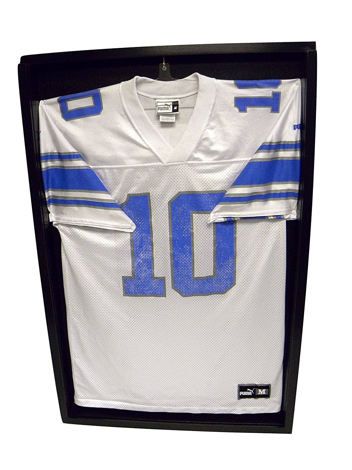 Amazon.com : Jersey Display Case Black Shadow : Sports Related ...