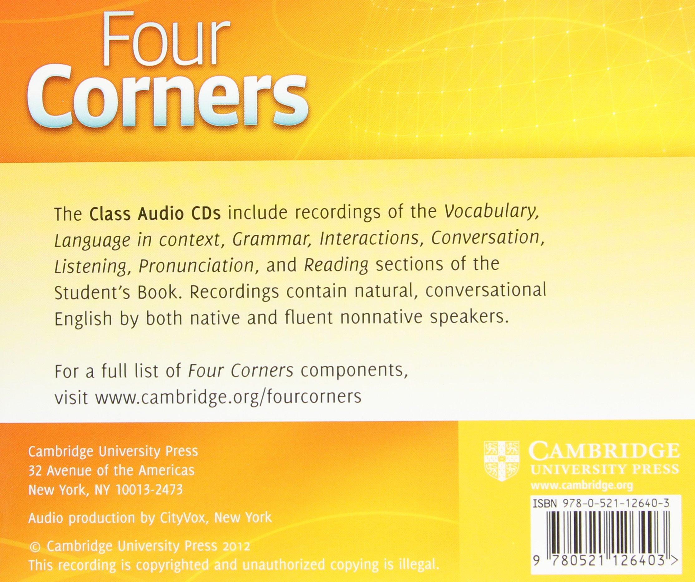 Four Corners English Book