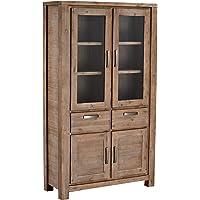 Ibbe Design Furniture Vitrina, Madera de Acacia Maciza