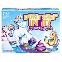 Deals on Hasbro Gaming Dont Step In It Game Unicorn Edition
