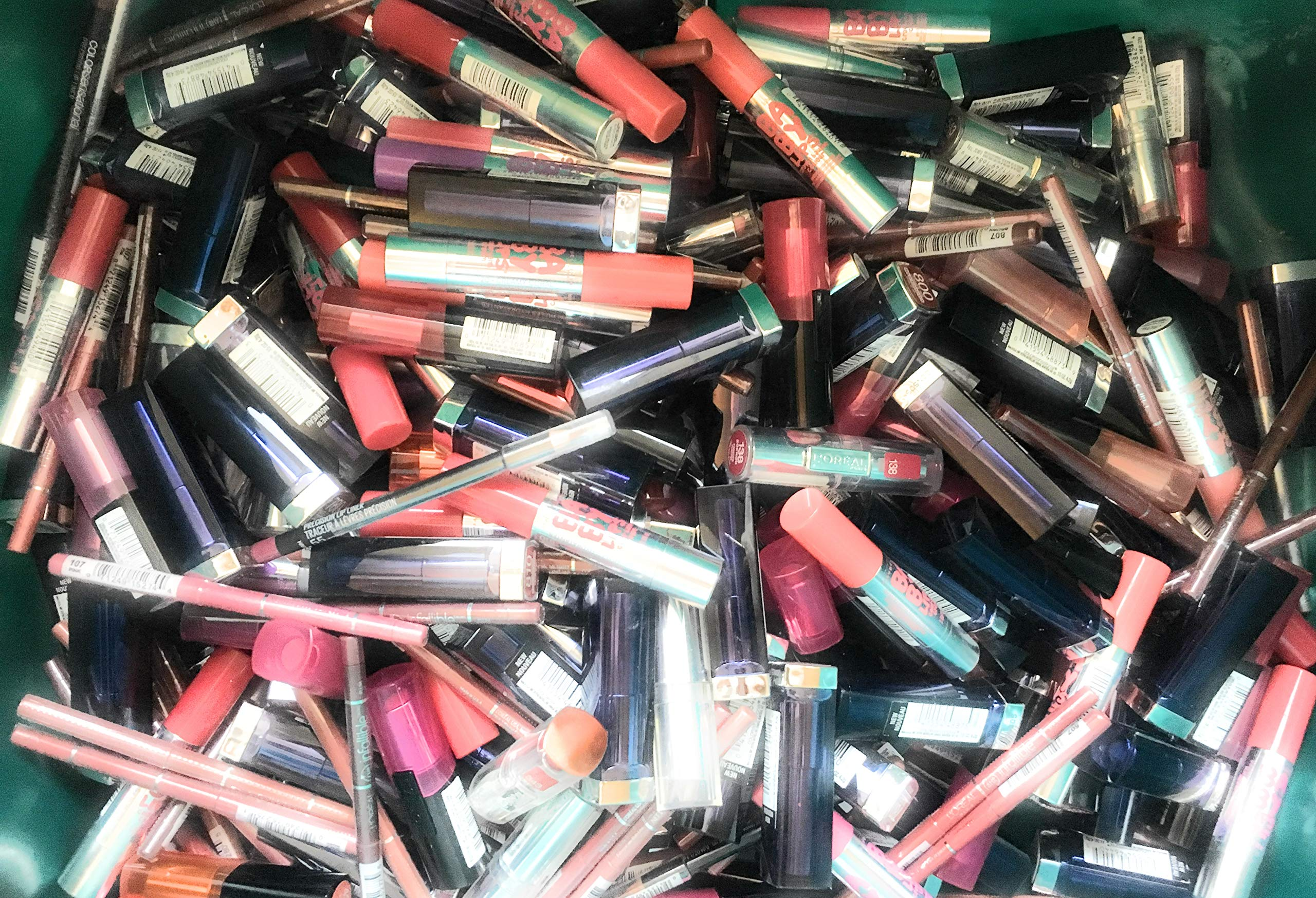 25 Assorted Piece Lot of Name Brand Makeup Wholesale, No Dups by Unknown (Image #3)