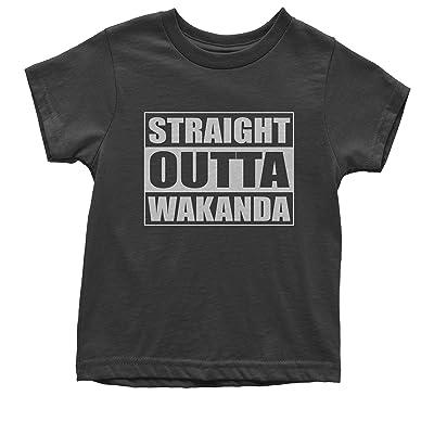 FerociTees Straight Outta Wakanda Youth T-Shirt