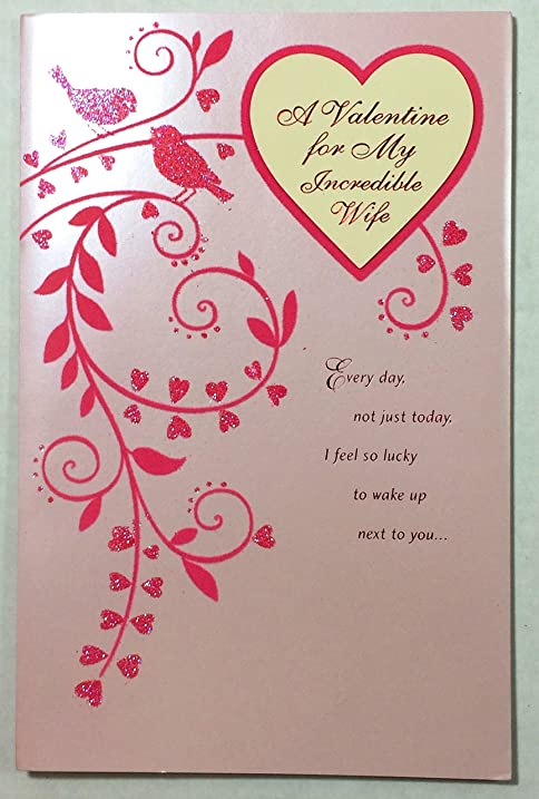 Amazoncom  Valentine Card For Wife A Valentine for My