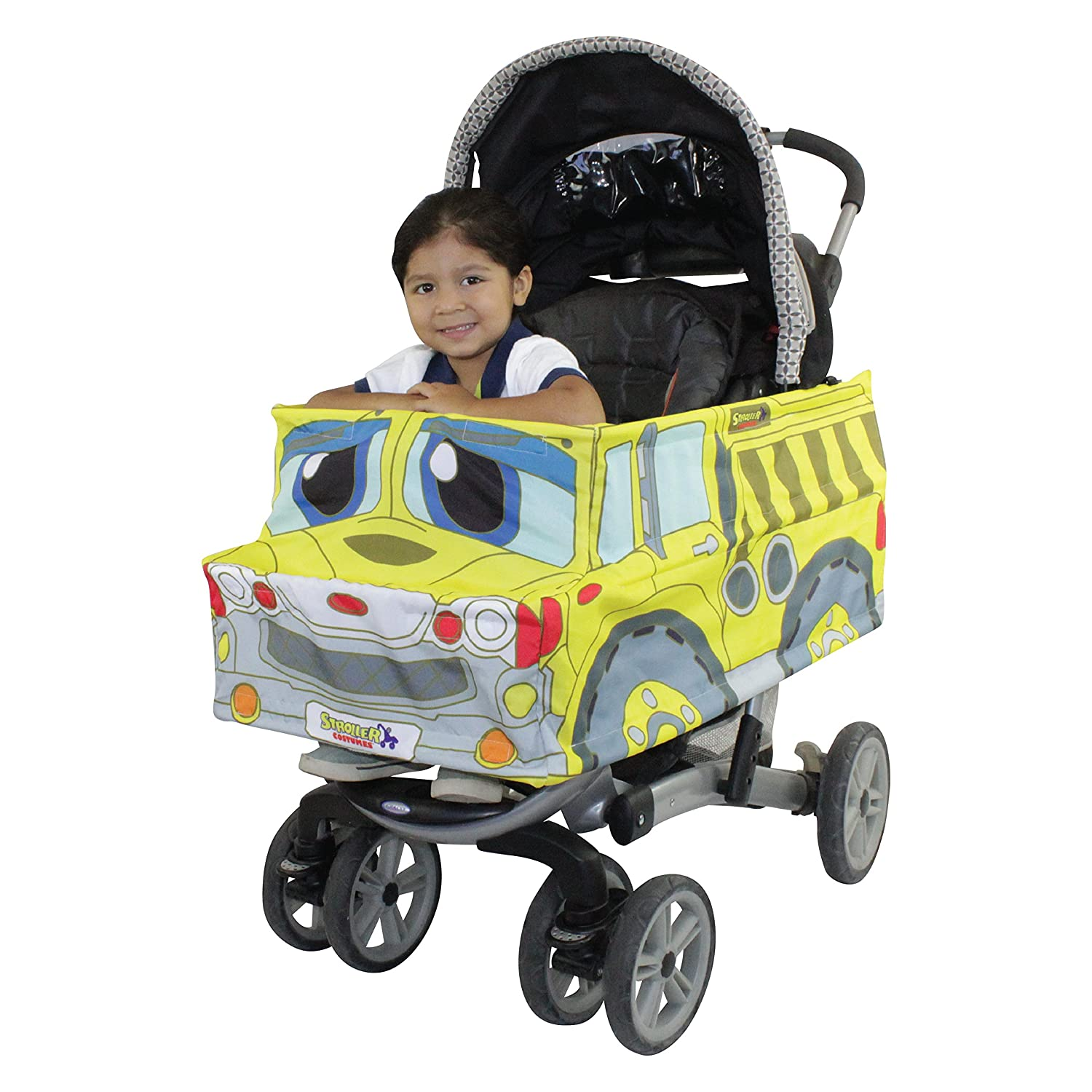 Dump Truck Stroller Costume Turns Stroller Into A Baby, Toddler Ride On Car Toy Two Monkeyz