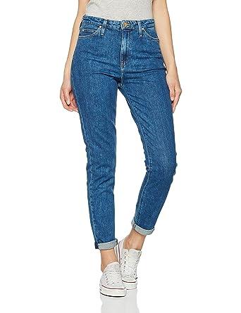 9e619e4d0d0f8 Lee Mom Tapered Jeans Femme: Amazon.fr: Vêtements et accessoires