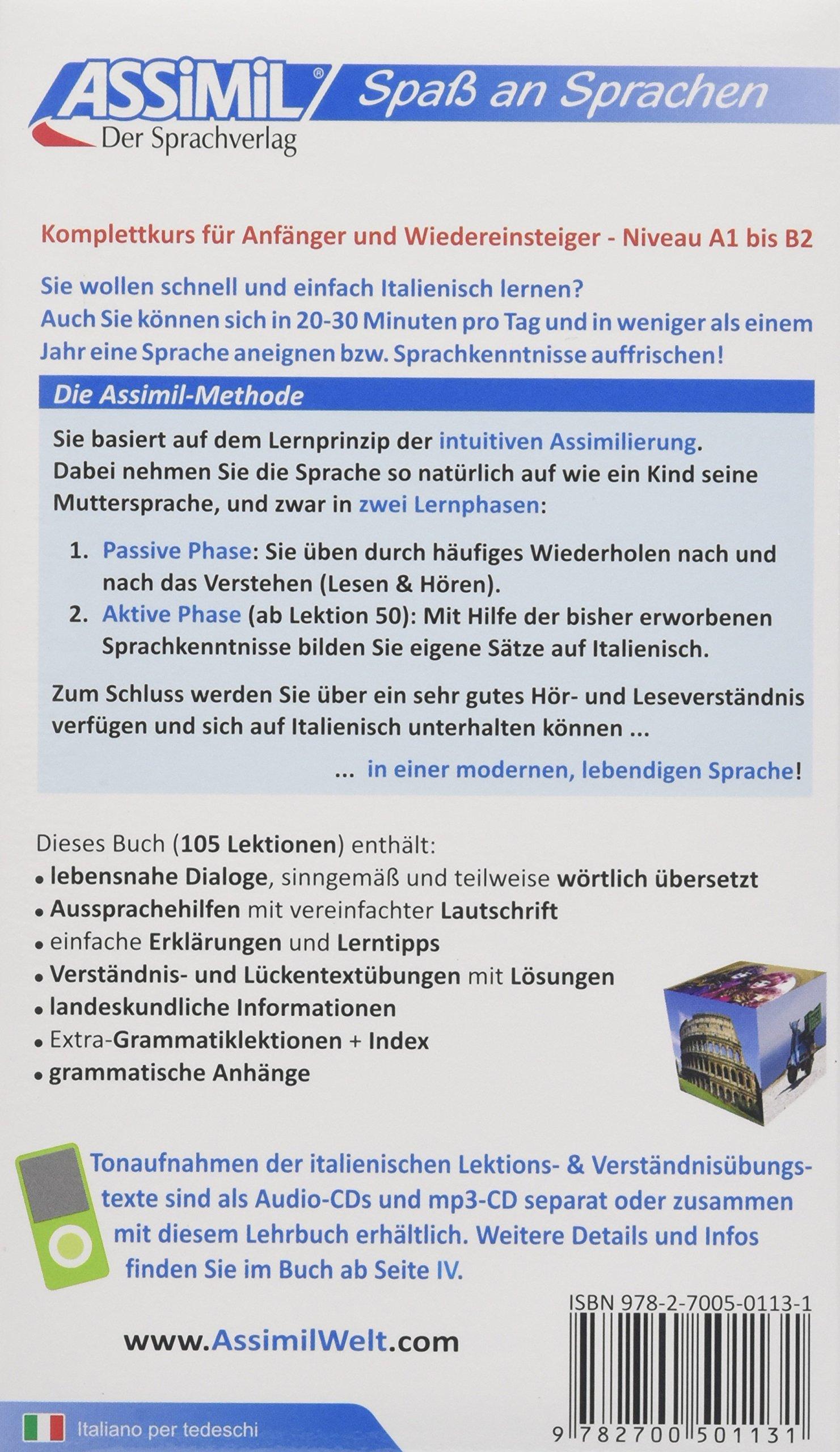ASSiMiL Selbstlernkurs für Deutsche: Assimil. Italienisch ohne Mühe ...