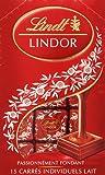 Lindt Lindor Passionnement Fondat Milk Chocolate - 15 Square Pcs