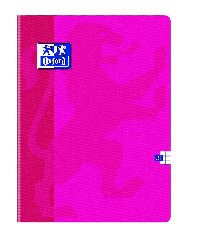 240 x 320mm Papier Vert Oxford 92942 Cahier Piqu/é Piq/ûres Couverture Pellicul/ée Lavable A4