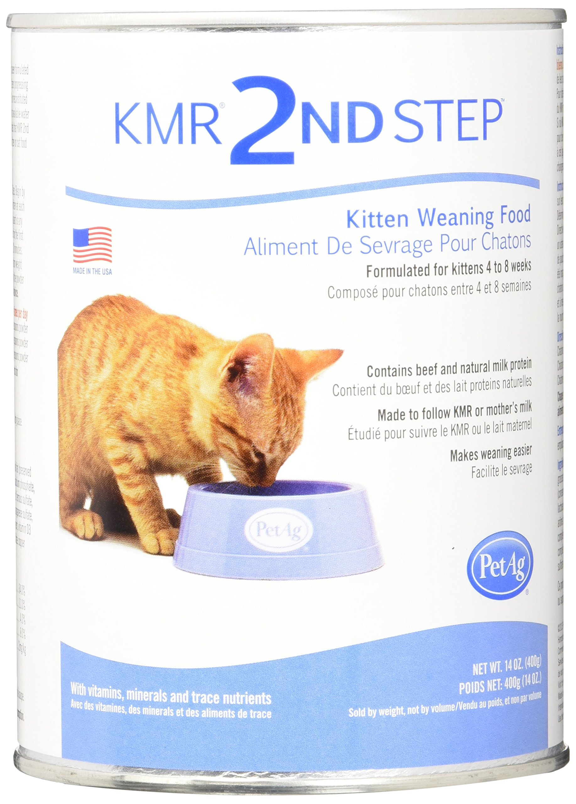 PetAg KMR 2nd Step Kitten Weaning Food 14oz 1