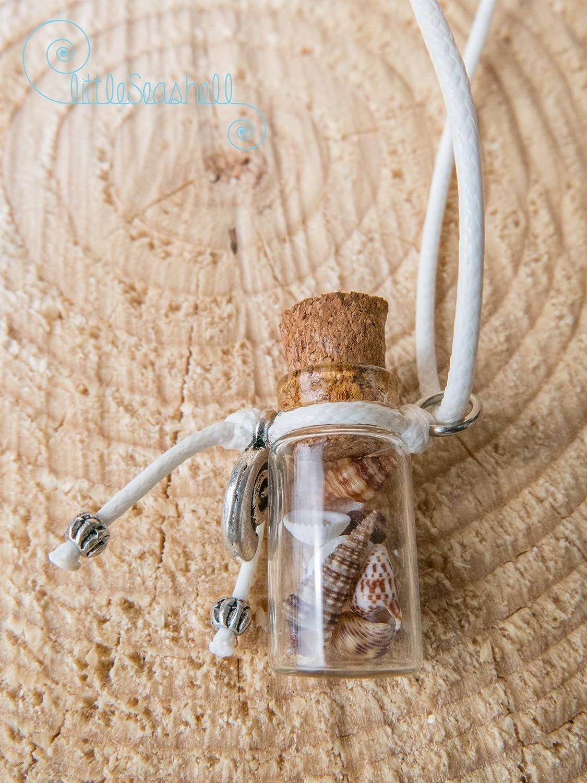 Collar largo Bohemia collar refinado regalo para ella algodón, cristal, acero inoxidable