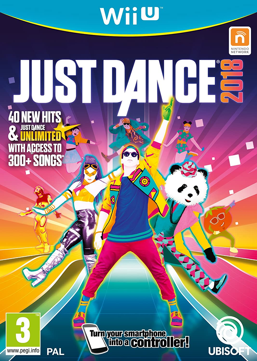 Just Dance 2018 (Nintendo Wii U) [Importación inglesa]: Amazon.es ...