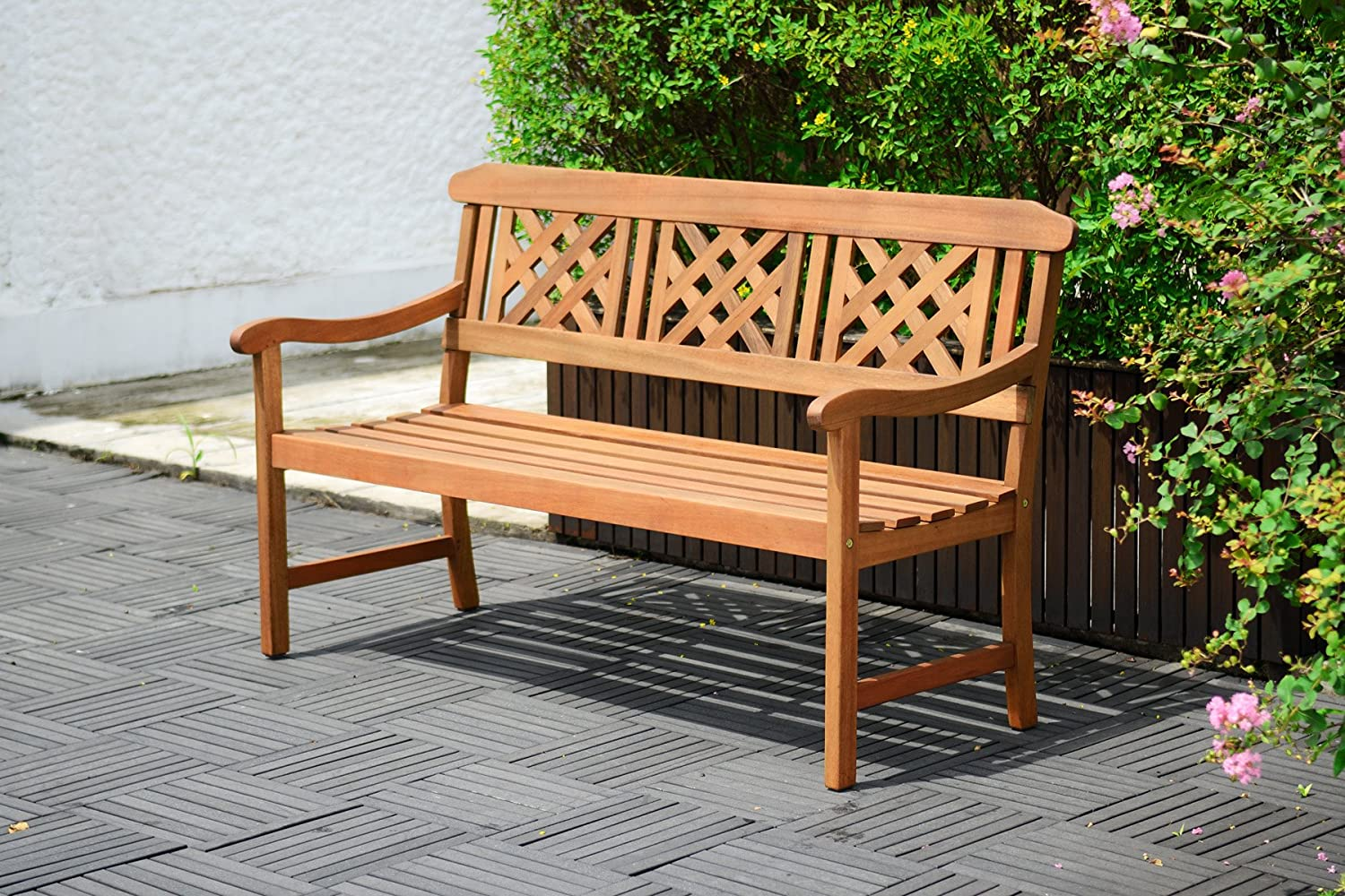 FENCE 2, 5 SEATER BENCH ScanCom SCAN1092