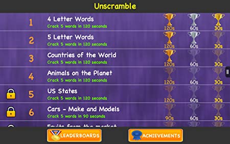 Unscramble - Best Free Jumbled Anagrams Words Games
