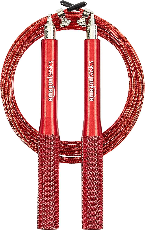 AmazonBasics Aluminum Handle Speed Jump Rope