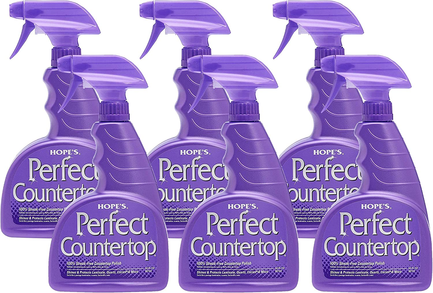 Amazon Com Hope S Perfect Countertop Cleaner And Polish 22 Ounce