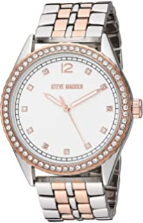 Amazon.com: Steve Madden SMW229 - Reloj de pulsera para ...