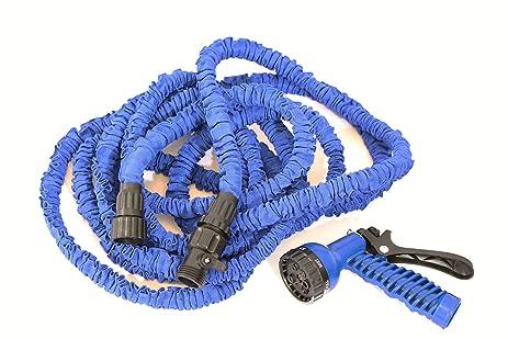 best expandable garden hose on the market expands to 50 feet ft ultra lightweight - Best Expandable Garden Hose