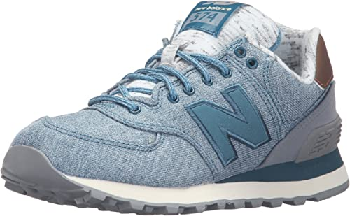 New Balance WL574AEC-574, Zapatillas de Running para Mujer, Azul ...