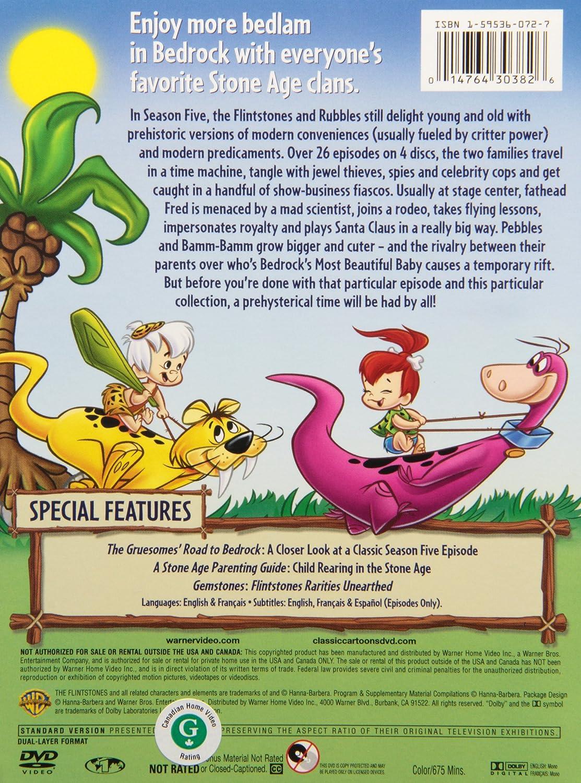 Amazoncom The Flintstones The Complete Fifth Season Joseph