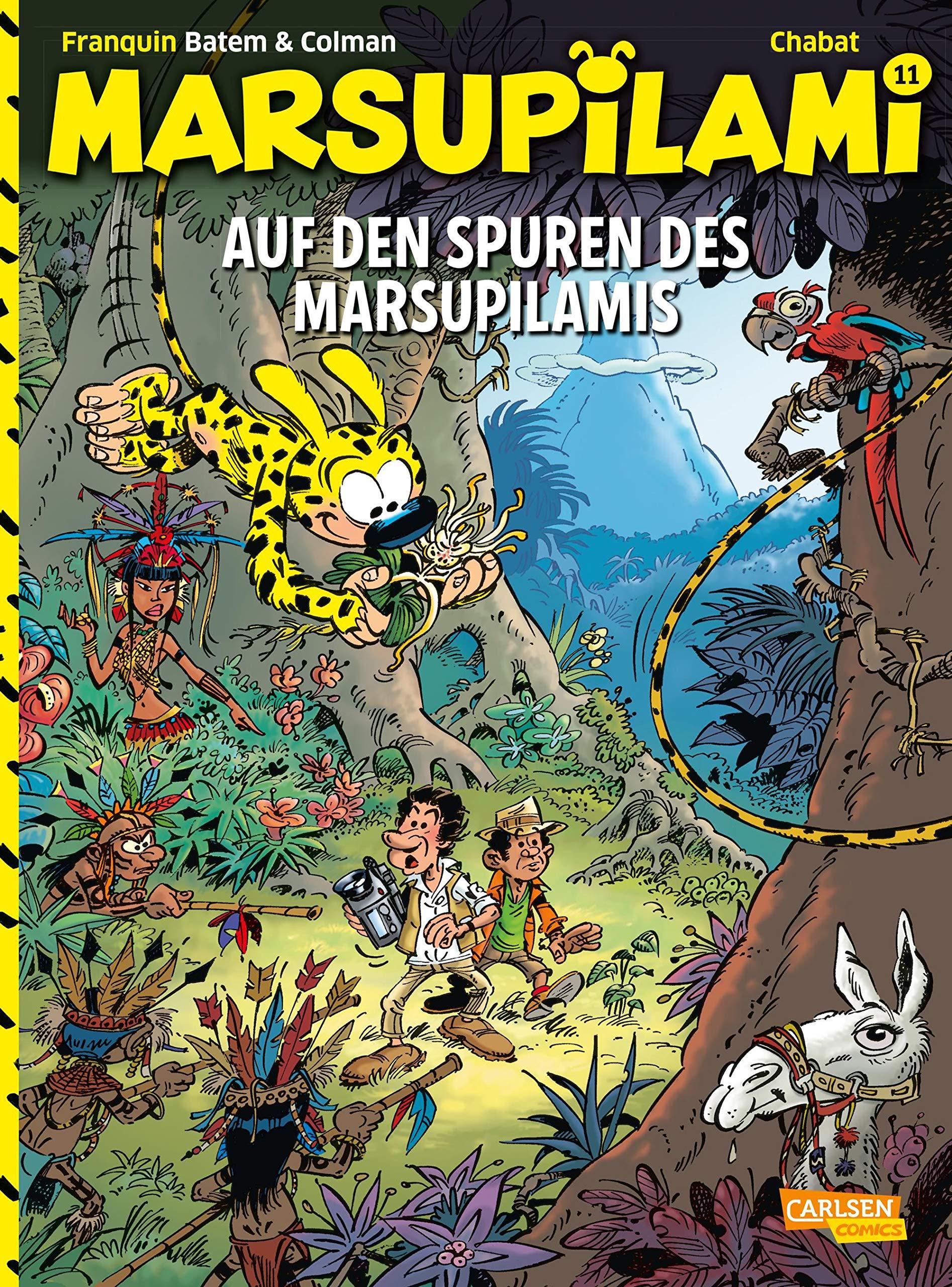 Marsupilami 11: Auf den Spuren des Marsupilamis (11)