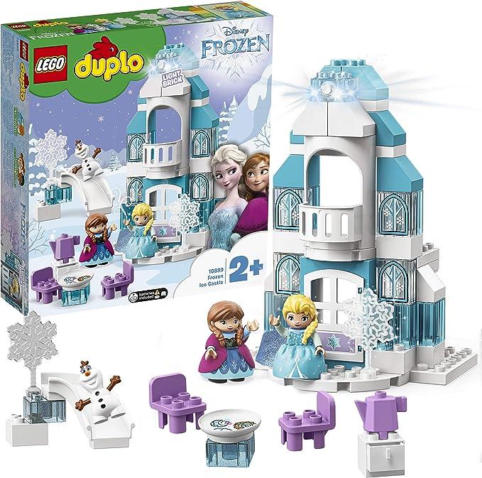 Lego Duplo Teller weiss Untertasse Schloß Frozen Olaf Diamant Flocke 10899 NEU