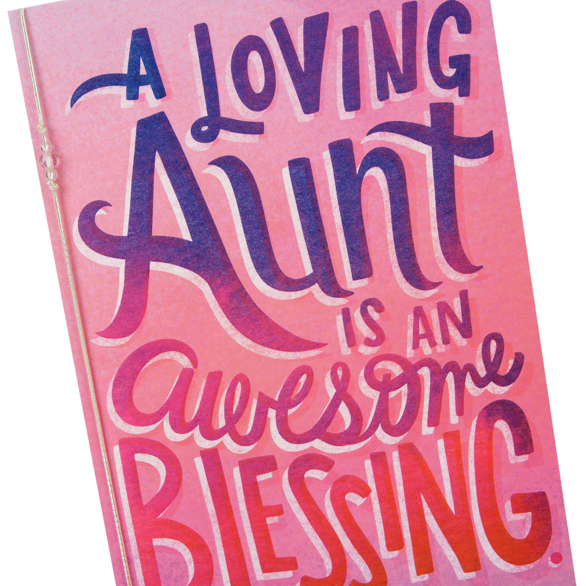 Hallmark Mahogany Mothers Day Card For Aunt Awesome Blessing